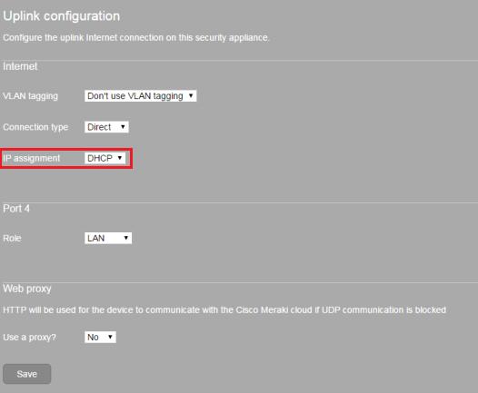 MX64 IP Assignment