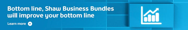 Shaw Business Bundles Promo