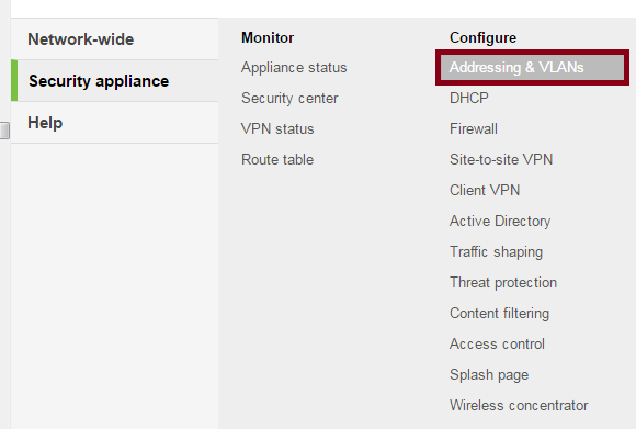 SmartSecurity Addressing & VLANs (click to enlarge)
