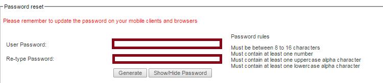 Password reset (click to enlarge)